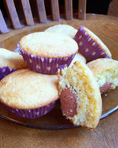 Homemade Corn Dog Muffins