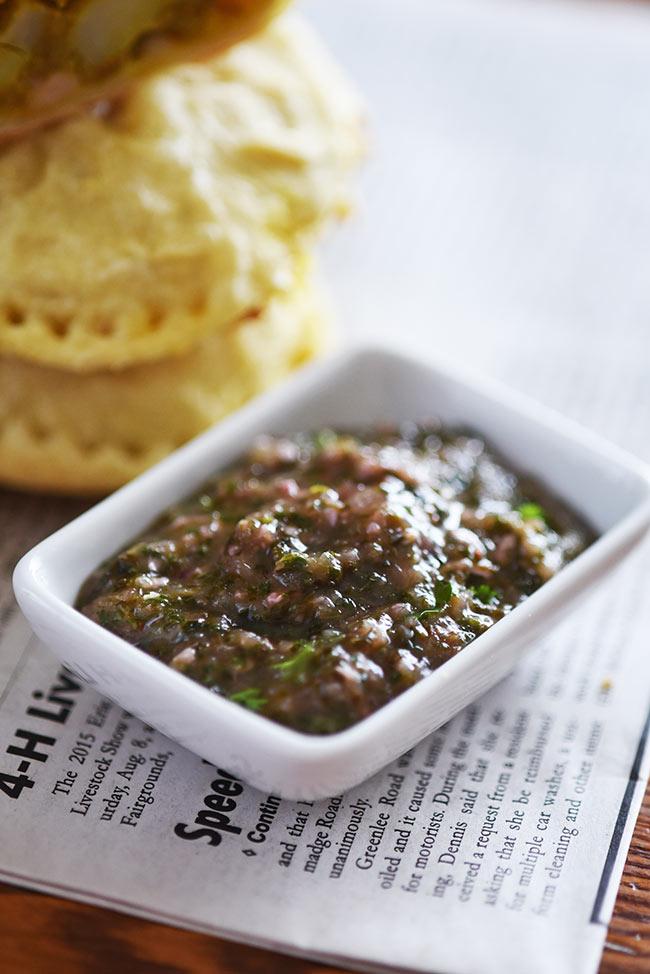 Indian Cilantro-Mint Chutney Dip