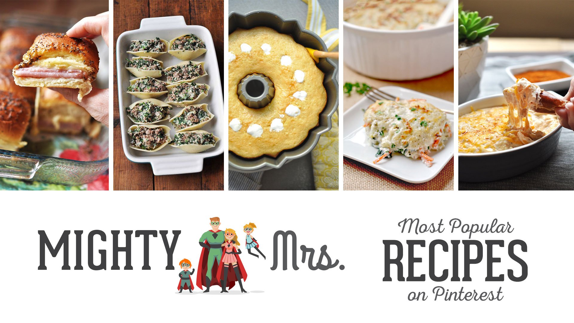 Most Popular Recipes on Pinterest