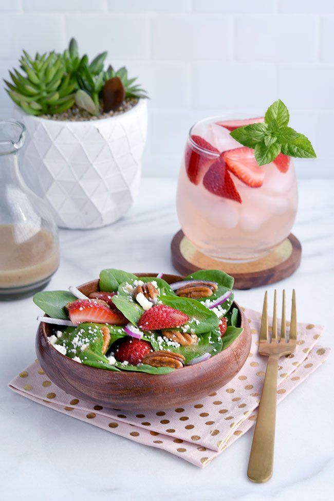 Strawberry Ginger Pinot Sangria