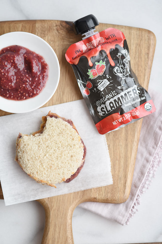 Easy Peanut Butter and Chia Jam