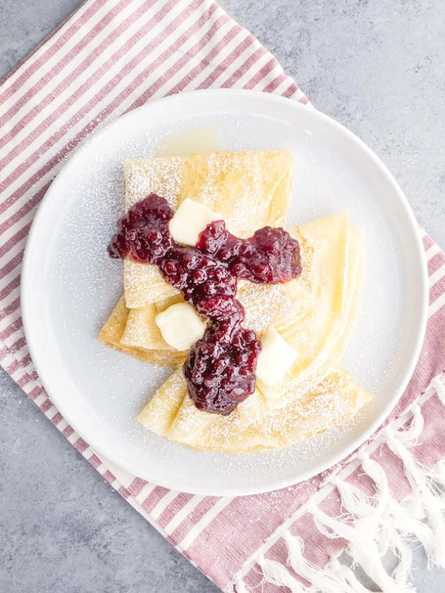 Swedish lingoberry crepes web stories cover