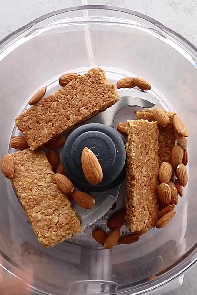 Almond Granola Bar Crust