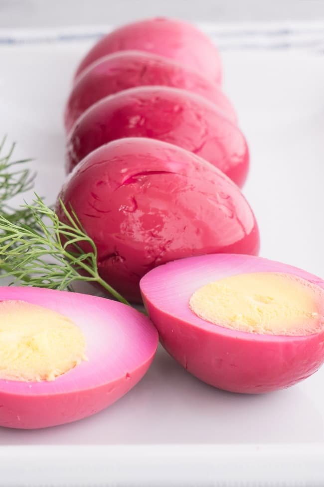Amish Pickled Red Beet Eggs