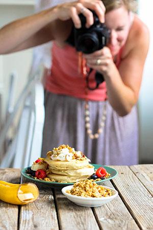 Angela Gast, food blogger