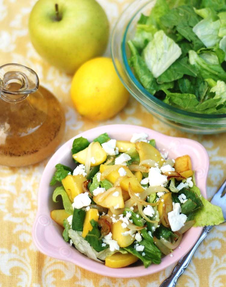 Caramelized Apple & Vadalia Onion Salad
