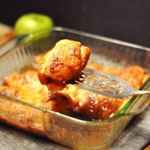 Easy Apple Dumplings using Crescent Rolls and Mountain Dew