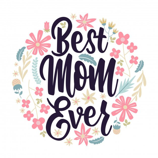 You are the best mom ever calligraphic Royalty Free Vector |You Are The Best Momma Ever