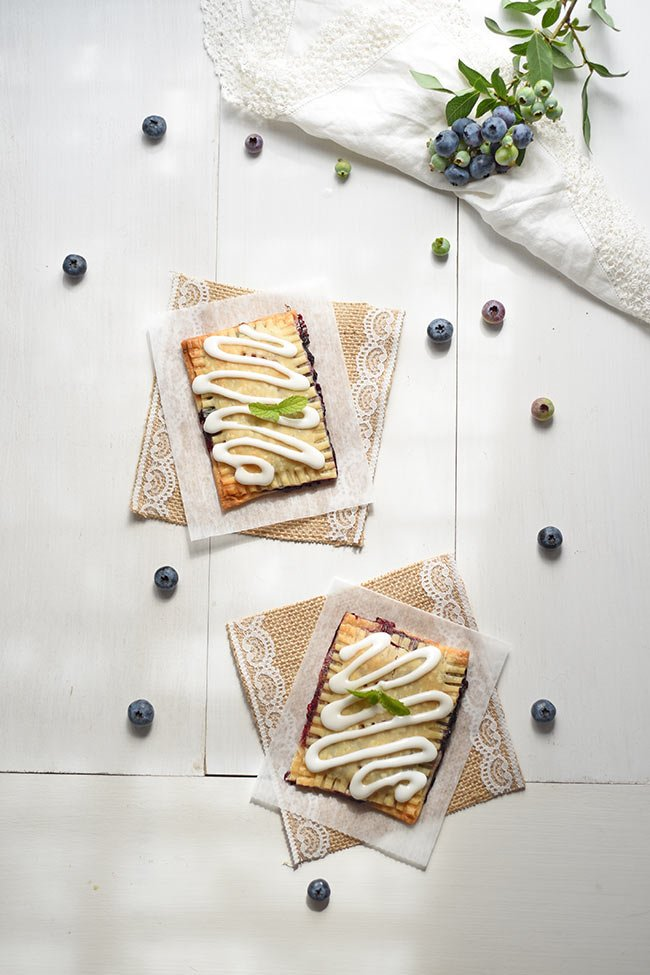 Homemade Blueberry Toaster Tarts
