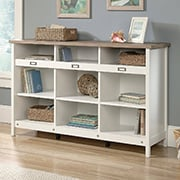 Entryway Storage Cabinet with Open Shelving