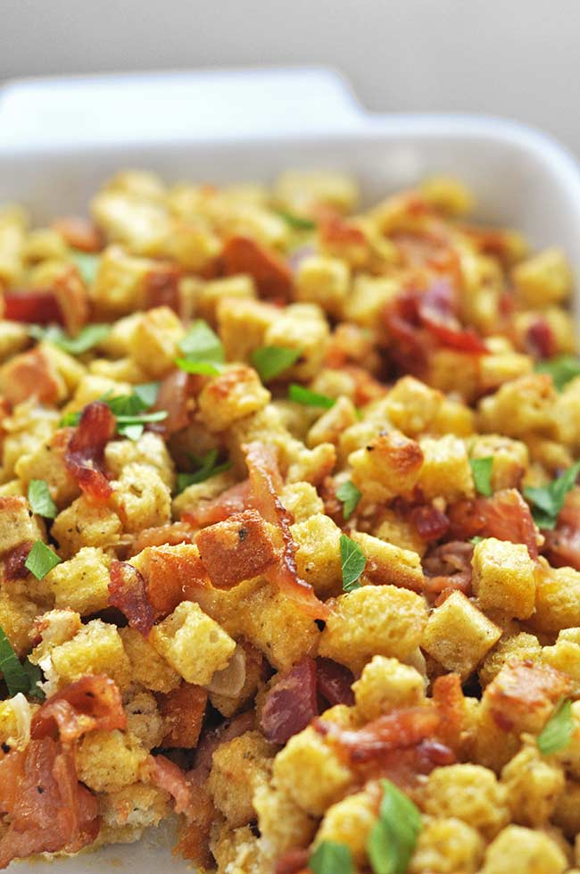Breakfast Stuffing Casserole