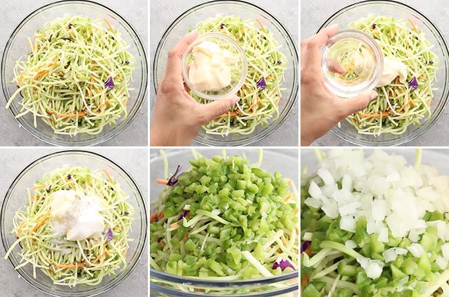 Broccoli Slaw Dressing Ingredients