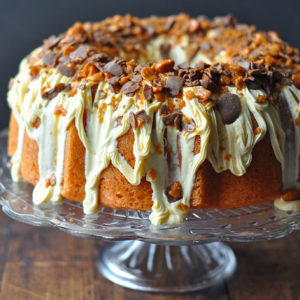 Butterfinger Bundy Cake