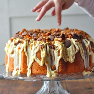 Browns Butterfinger Bundt Cake