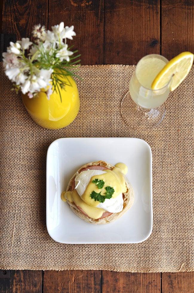 Brunch Ideas Series: Eggs Benedict with Lemosa