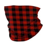 Buffalo Plaid Neck Scarf