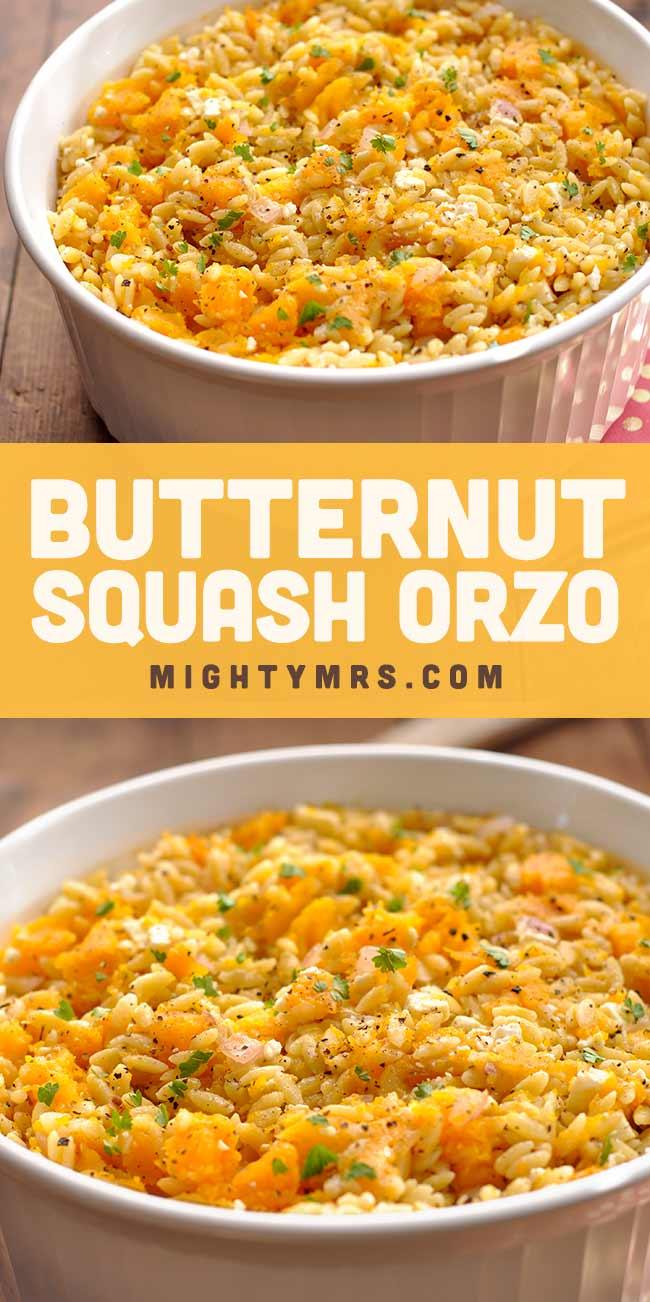 Butternut Squash Orzo
