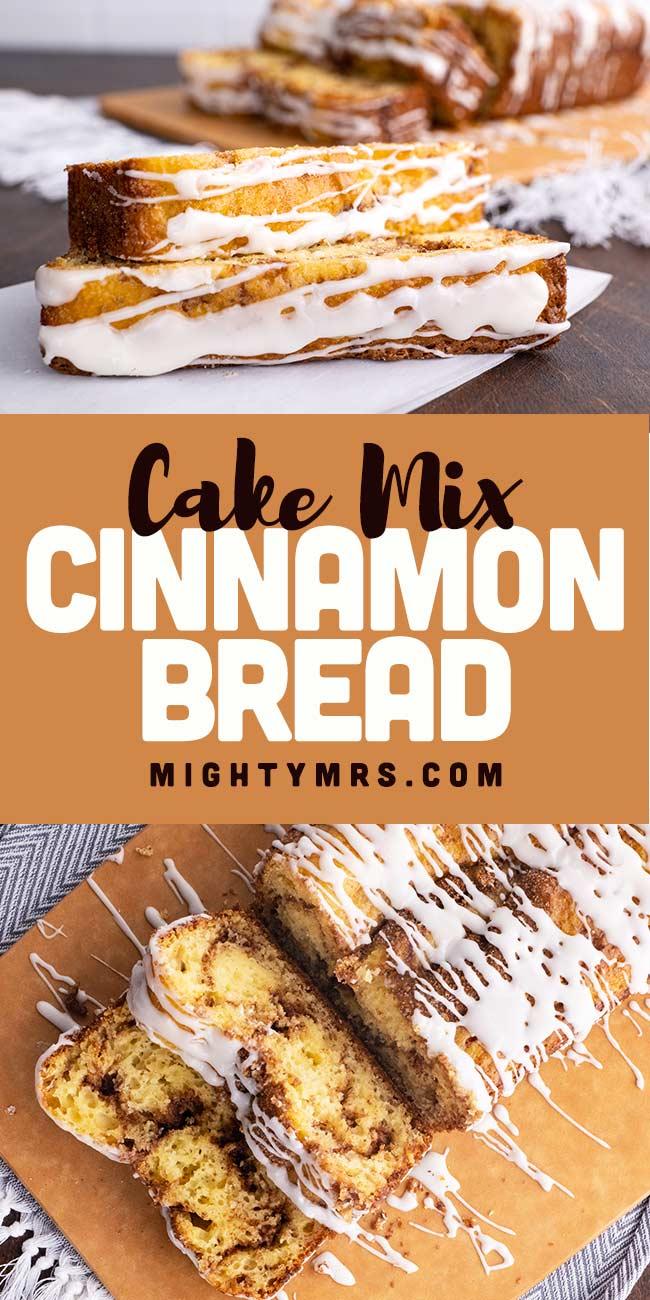 Yellow Cake Mix CInnamon Bread