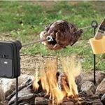 Campfire Chicken Rotisseri Spit
