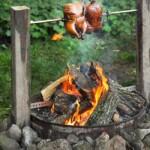 Campfire Smoked Rotisserie Chicken