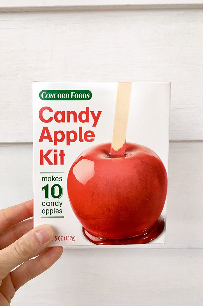 Concord Candy Apple Kit