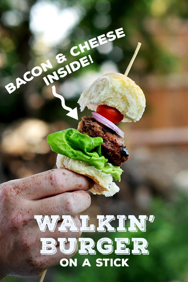 Walkin' Burger on a Stick #shop