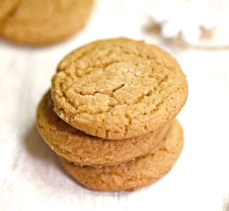 Chewy Honey Molasses Cookies