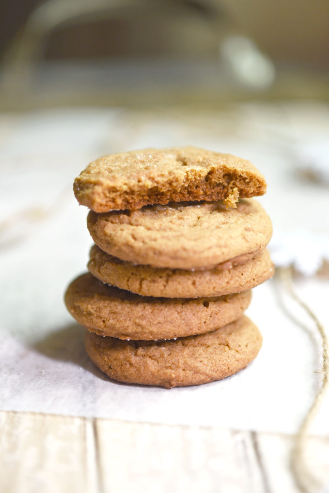 Honey Molasses Cookies