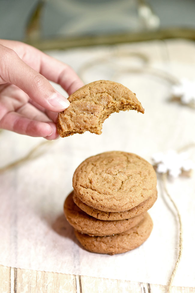 Soft Chewy Honey Molasses Cookies