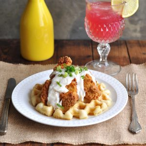 Brunch Ideas Series: Chicken and Waffles