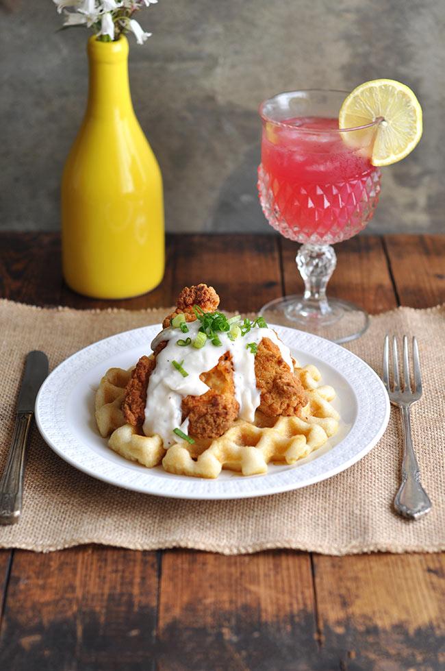 Brunch Ideas Series: Chicken and Waffles