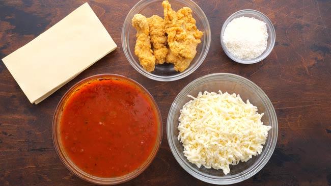 Chicken Parmesan Lasagna Ingredients