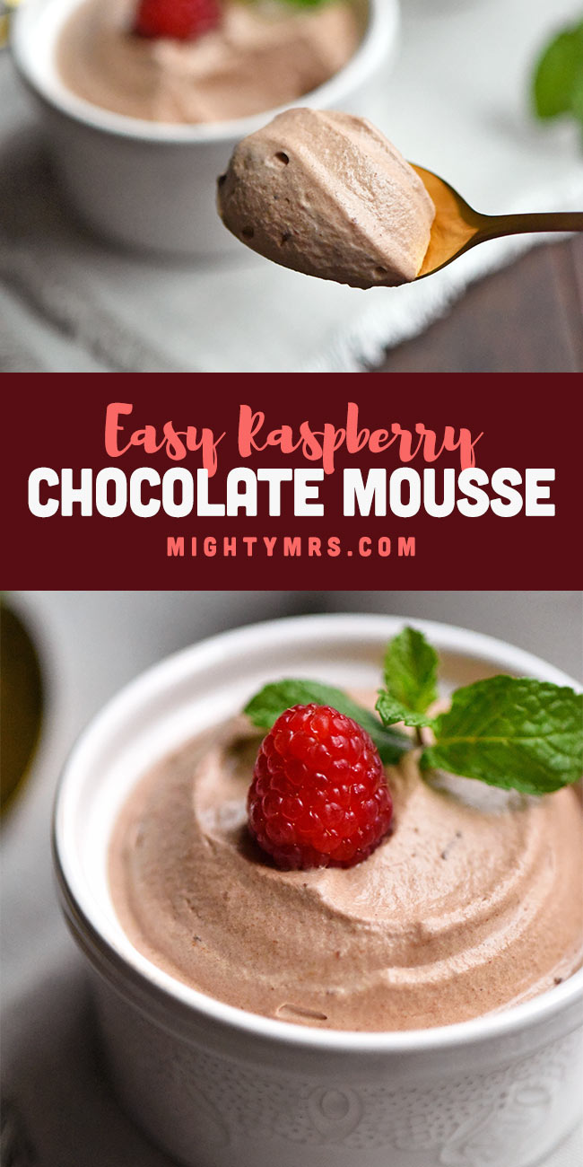 Raspberry Chocolate Mousse Recipe
