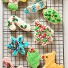 Christmas Cut-out Cookies with Buttercream Frosting