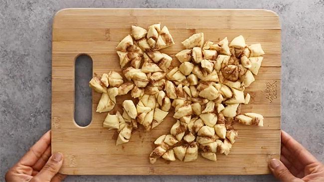Easy Cinnamon Roll Casserole Mighty Mrs