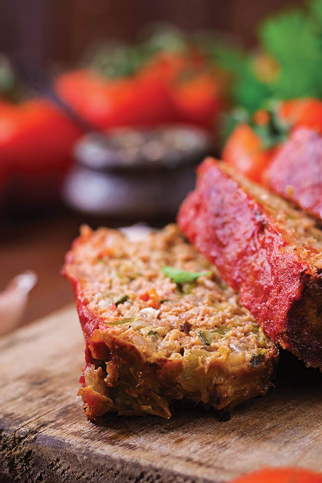 Classic Meatloaf with Ketchup