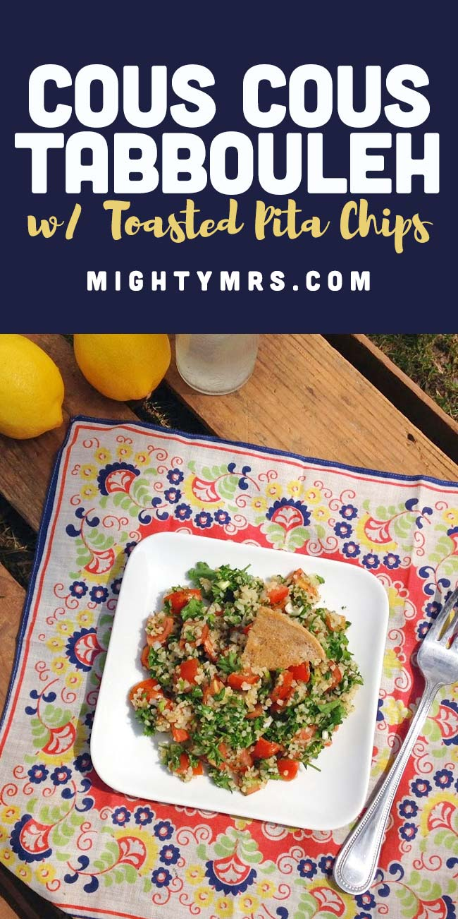 Easy Cous Cous Tabbouleh