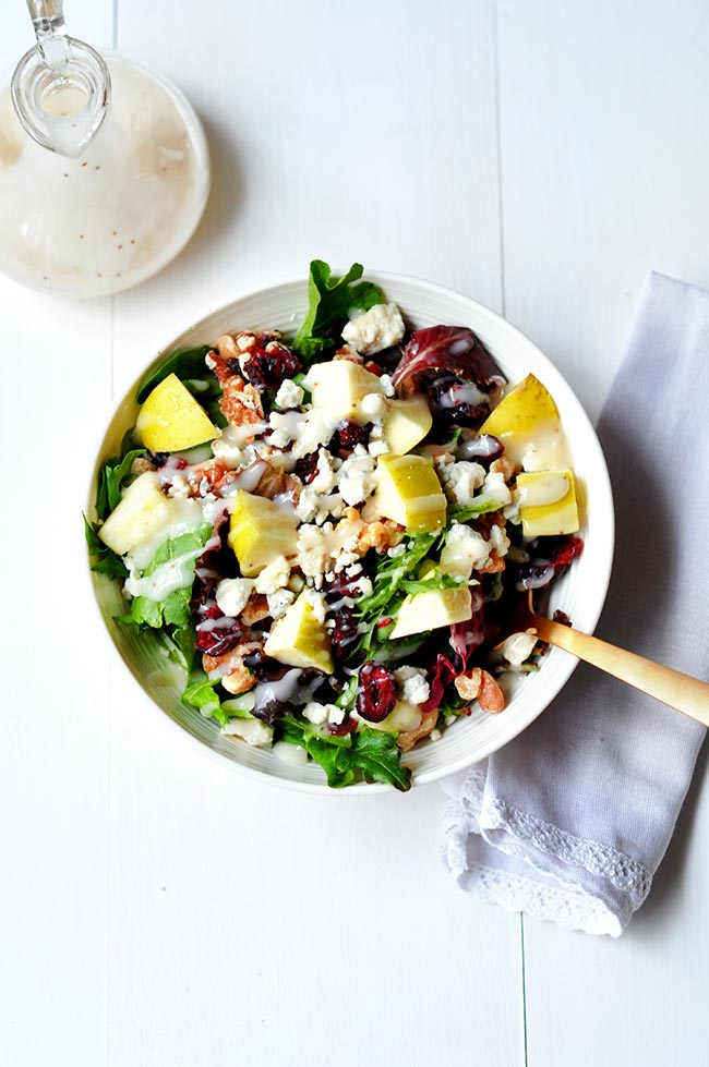 Cranberry Blue Cheese Salad