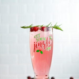 Cranberry Christmas Mimosa