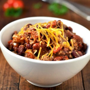 Crock-pot Coriander Chili