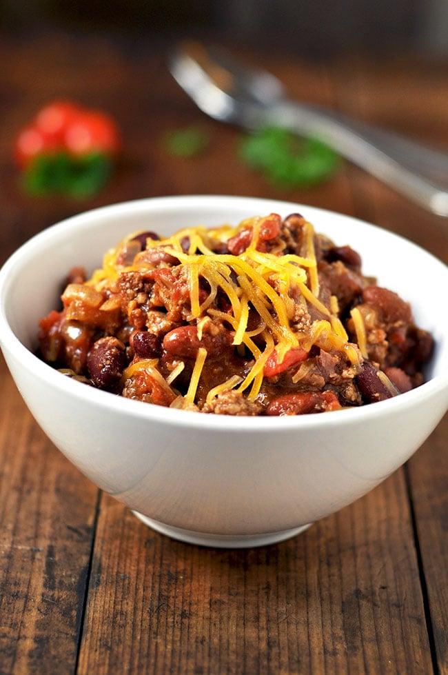 Crock-pot Coriander Chili