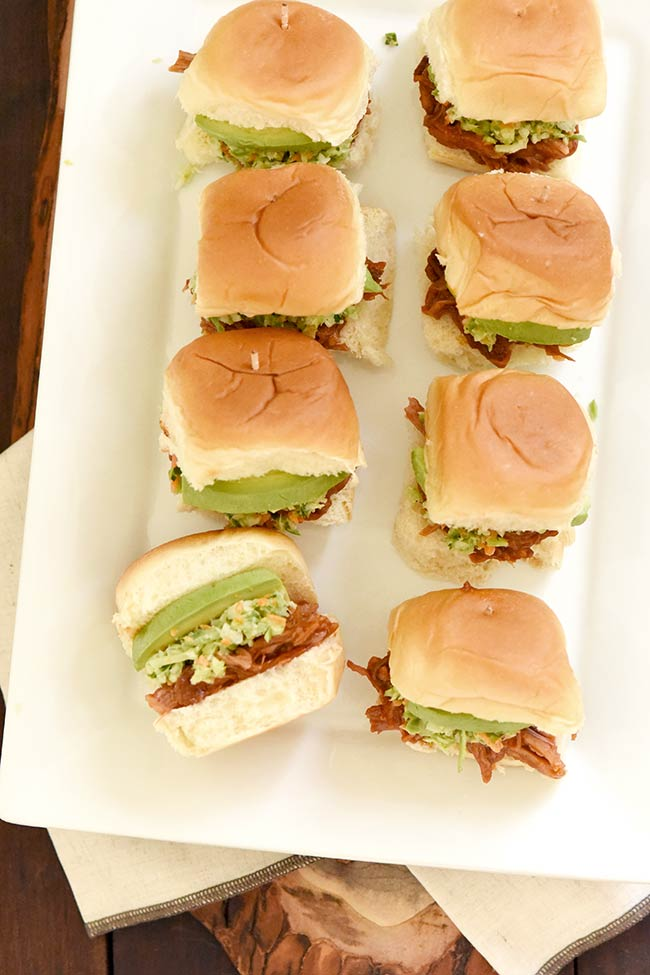 Curly's® Pulled Pork Hawaiian Roll Slider Easy Appetizer