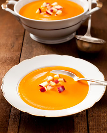 Curried Apple Butternut Squash Soup