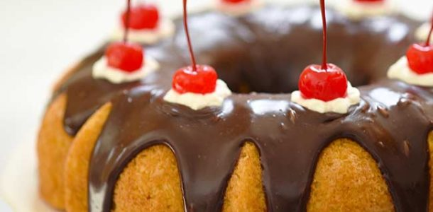 Boston Cream Bundt Cake