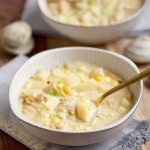 Rich Creamy Clam Chowder