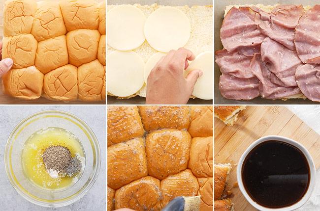 French Dip Slider Au Jus Ingredients