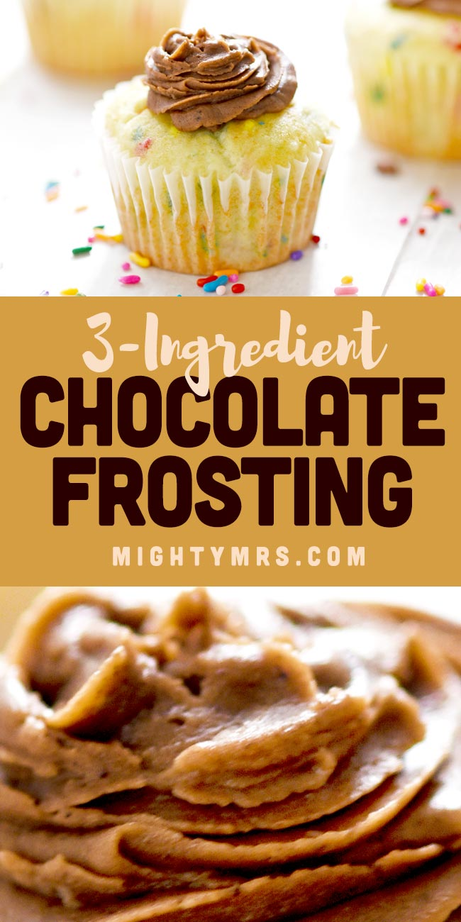 Easy Homemade Chocolate Buttercream Frosting