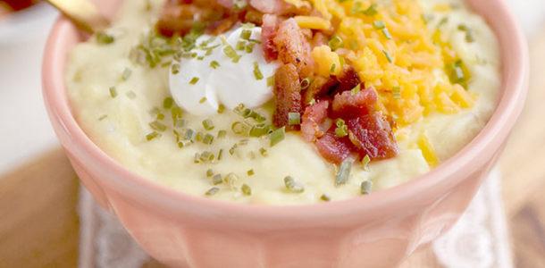 Easy Loaded Potato Soup