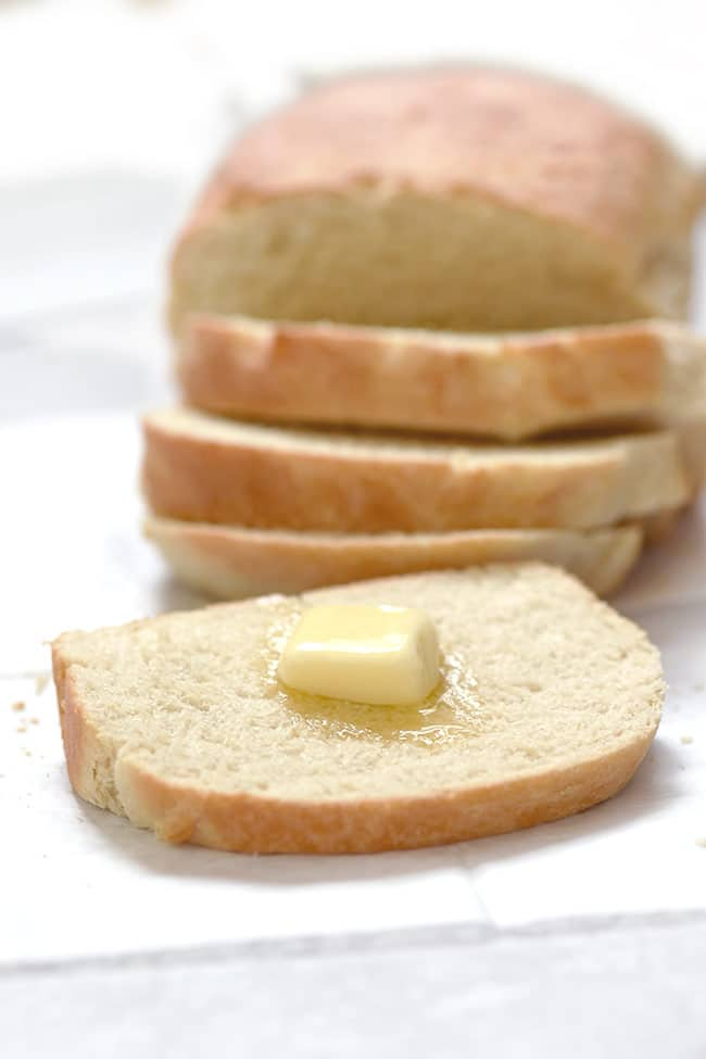 Easy Milk and Honey Bread (5 Ingredients)
