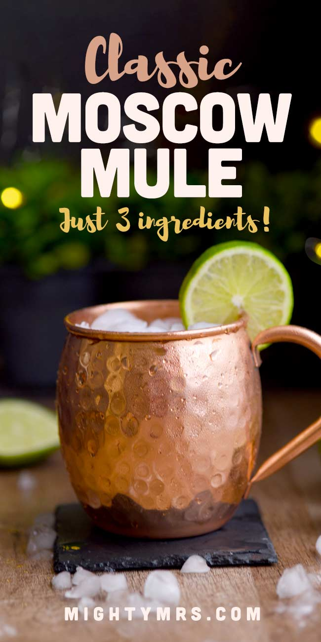 Classic Moscow Mule in Copper Mug